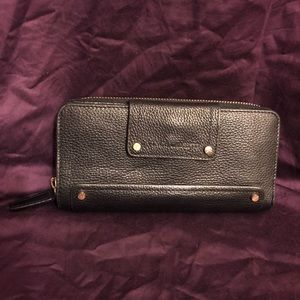 Vince Camuto Jill Checkbook Leather Wallet